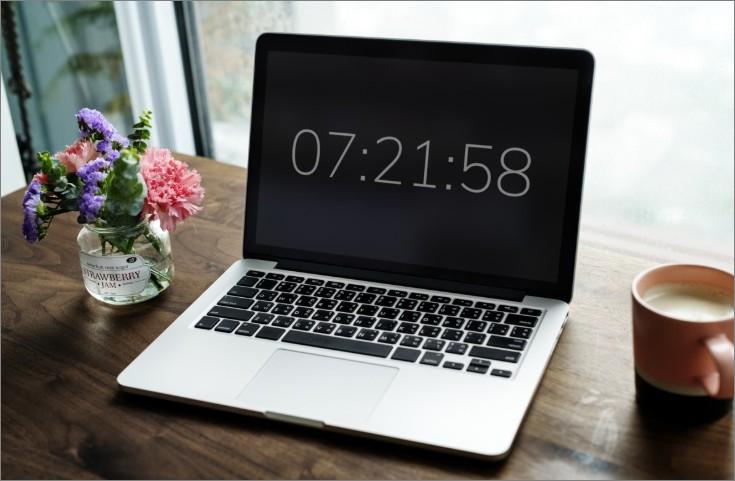 컴퓨터 시간 설정