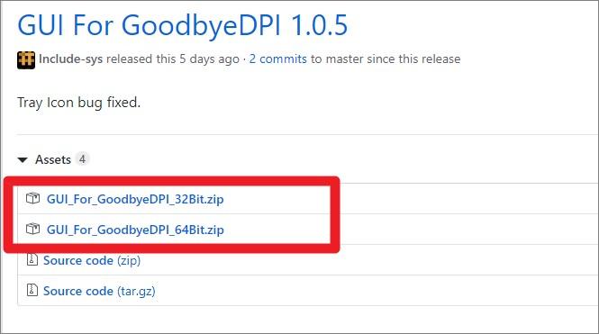 goodbyedpi 1.0.5